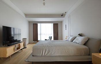豪华型140平米四室三厅日式风格卧室图