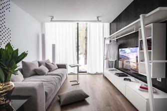 120平米复式地中海风格客厅图