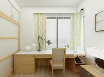 90平米三室一厅日式风格书房图片
