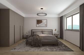 20万以上130平米三室三厅轻奢风格卧室装修案例
