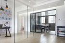 15-20万90平米三室两厅英伦风格书房设计图