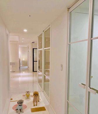 20万以上140平米三室两厅现代简约风格走廊图