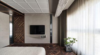 豪华型120平米四室两厅工业风风格卧室图片