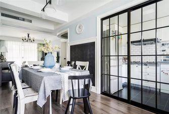 富裕型120平米三室两厅美式风格餐厅效果图
