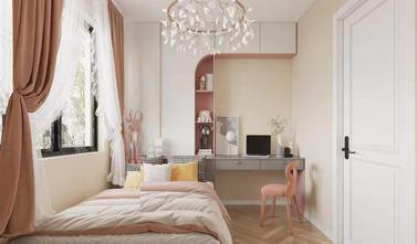 富裕型90平米三法式风格青少年房装修案例