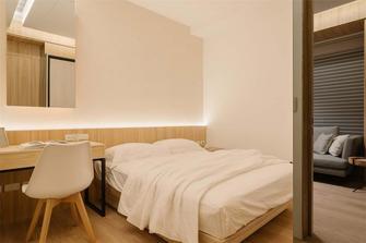 110平米三室两厅日式风格卧室装修效果图