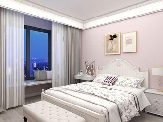 富裕型120平米田园风格卧室欣赏图