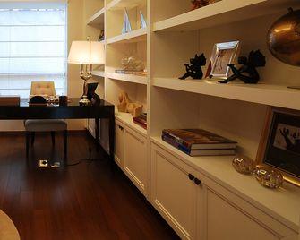 120平米三欧式风格书房图片大全