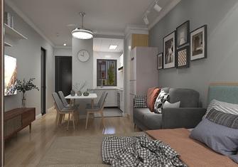 经济型30平米超小户型北欧风格客厅图