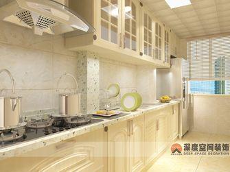 经济型110平米田园风格厨房图片大全