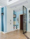 100平米三室一厅田园风格玄关装修案例