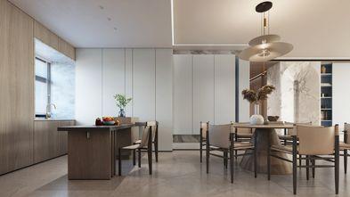 20万以上140平米三室两厅现代简约风格餐厅装修图片大全