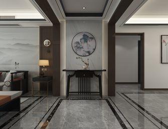 140平米三室三厅中式风格玄关图片大全