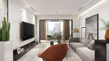 120平米三室三厅现代简约风格客厅装修案例