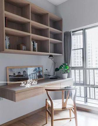 10-15万90平米三室一厅日式风格书房装修图片大全