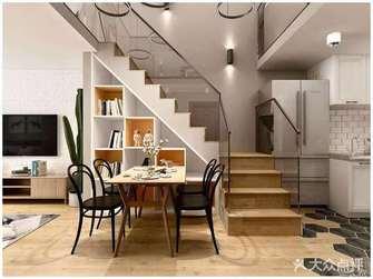 经济型100平米四室两厅北欧风格餐厅效果图