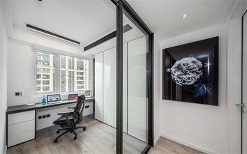 经济型100平米三室两厅现代简约风格书房装修案例