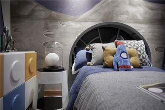 70平米三室两厅中式风格青少年房效果图