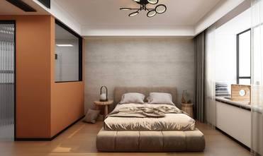 20万以上130平米三工业风风格卧室设计图