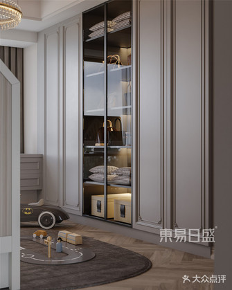 140平米四室两厅法式风格衣帽间装修案例