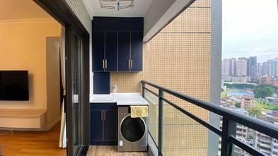 10-15万80平米三室两厅现代简约风格阳台效果图