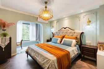 20万以上140平米三室一厅新古典风格卧室设计图