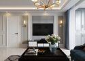 80平米美式风格客厅图