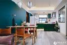 5-10万120平米三室一厅混搭风格餐厅效果图
