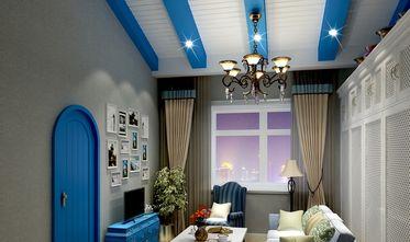 140平米三室两厅地中海风格客厅图片