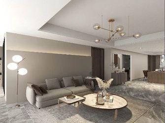 富裕型100平米三轻奢风格客厅图片大全