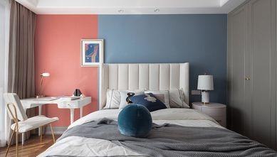 15-20万130平米公寓混搭风格卧室图