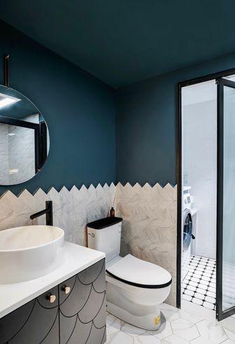 15-20万90平米三室一厅新古典风格卫生间设计图