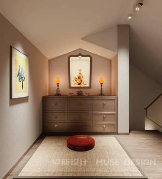 豪华型140平米别墅中式风格阁楼效果图