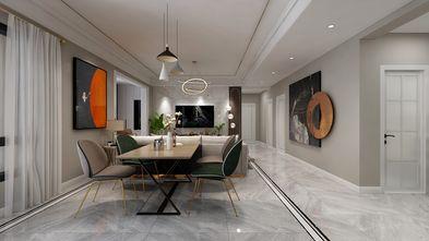 富裕型120平米四室两厅轻奢风格餐厅图片大全