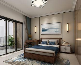 富裕型130平米四室两厅中式风格卧室装修效果图