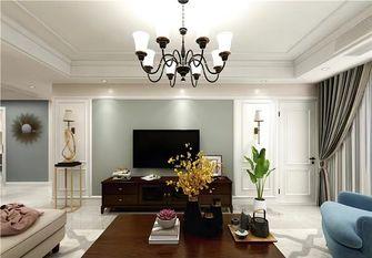 130平米三室一厅美式风格客厅欣赏图
