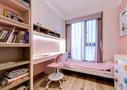 豪华型110平米四室一厅北欧风格青少年房图