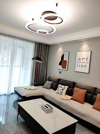 10-15万100平米三室两厅现代简约风格客厅装修效果图