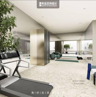 140平米别墅美式风格健身房设计图