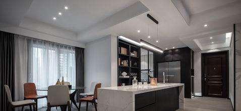 豪华型120平米三室两厅轻奢风格餐厅装修案例