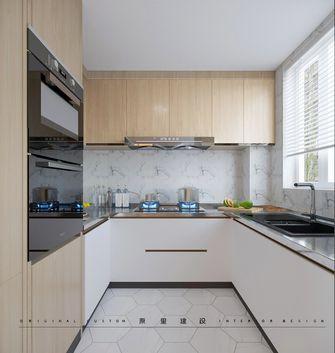 130平米三室两厅日式风格厨房图片