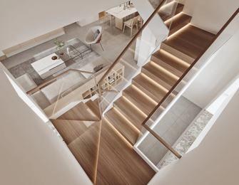 140平米四北欧风格楼梯间图片