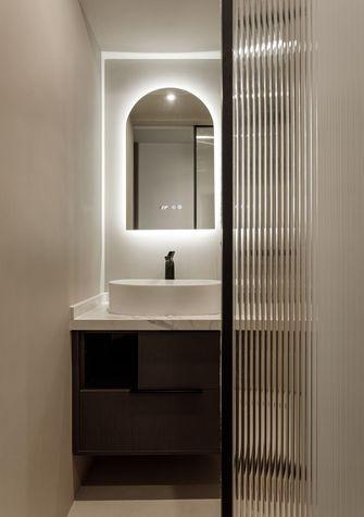 富裕型60平米现代简约风格卫生间装修案例