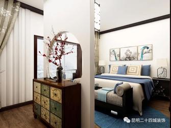 140平米三室两厅中式风格卧室图