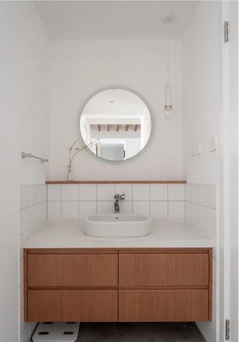 经济型三室一厅日式风格卫生间设计图