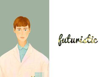 Futuristic 未来派美发