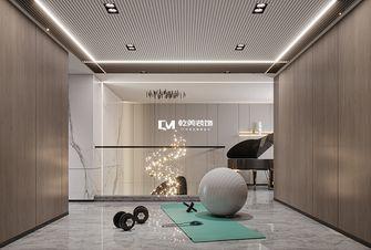 豪华型140平米别墅轻奢风格健身房图片大全