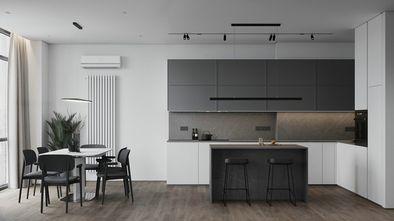 20万以上140平米三室一厅现代简约风格餐厅设计图