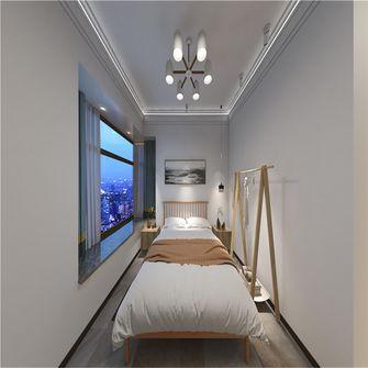 富裕型120平米三室两厅北欧风格卧室设计图