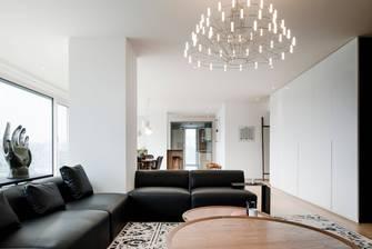 5-10万70平米一室两厅现代简约风格客厅效果图